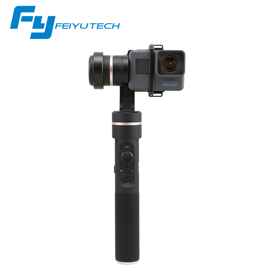 Feiyu G5 for gopro hero 5 3 axis handheld gimbal stabilizer for action camera 3-axis Gimbal steadicam splashproof FY G5 gimbal [hk stock][official international version] xiaoyi yi 3 axis handheld gimbal stabilizer yi 4k action camera kit ambarella a9se75 sony imx377 12mp 155‎ degree 1400mah eis ldc sport camera black