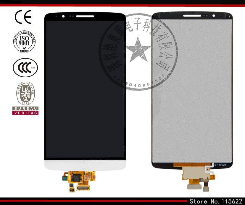 LCD display screen for LG G3 D855 G3 D856 Dual Cell Phones grey black golden original