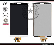 Lcd display für lg g3 d855, G3 D856 Dual Handys, (grau, schwarz, golden, original (PRC), mit touchscreen, mit Logo)