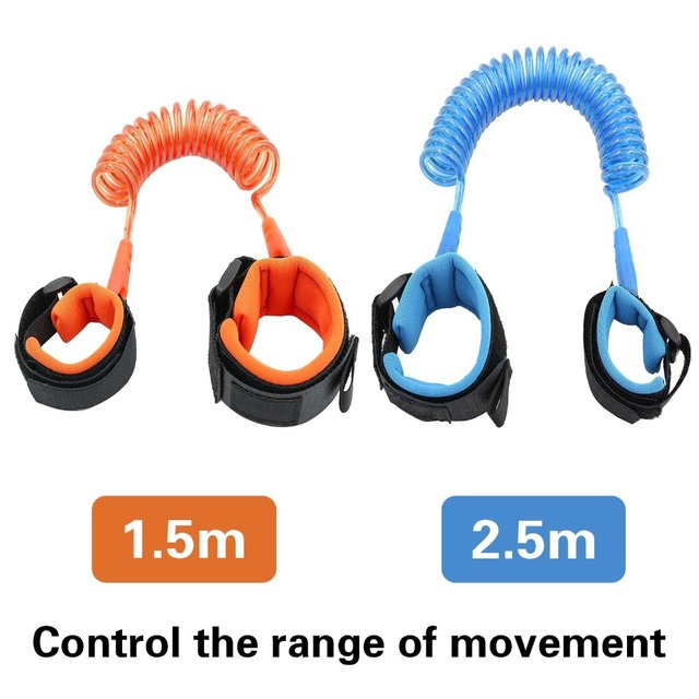Anti Lost Wrist Link Toddler Leash Safety Harness for Baby Strap Rope Outdoor Walking Hand Belt Band Anti-lost Wristband Kids 3