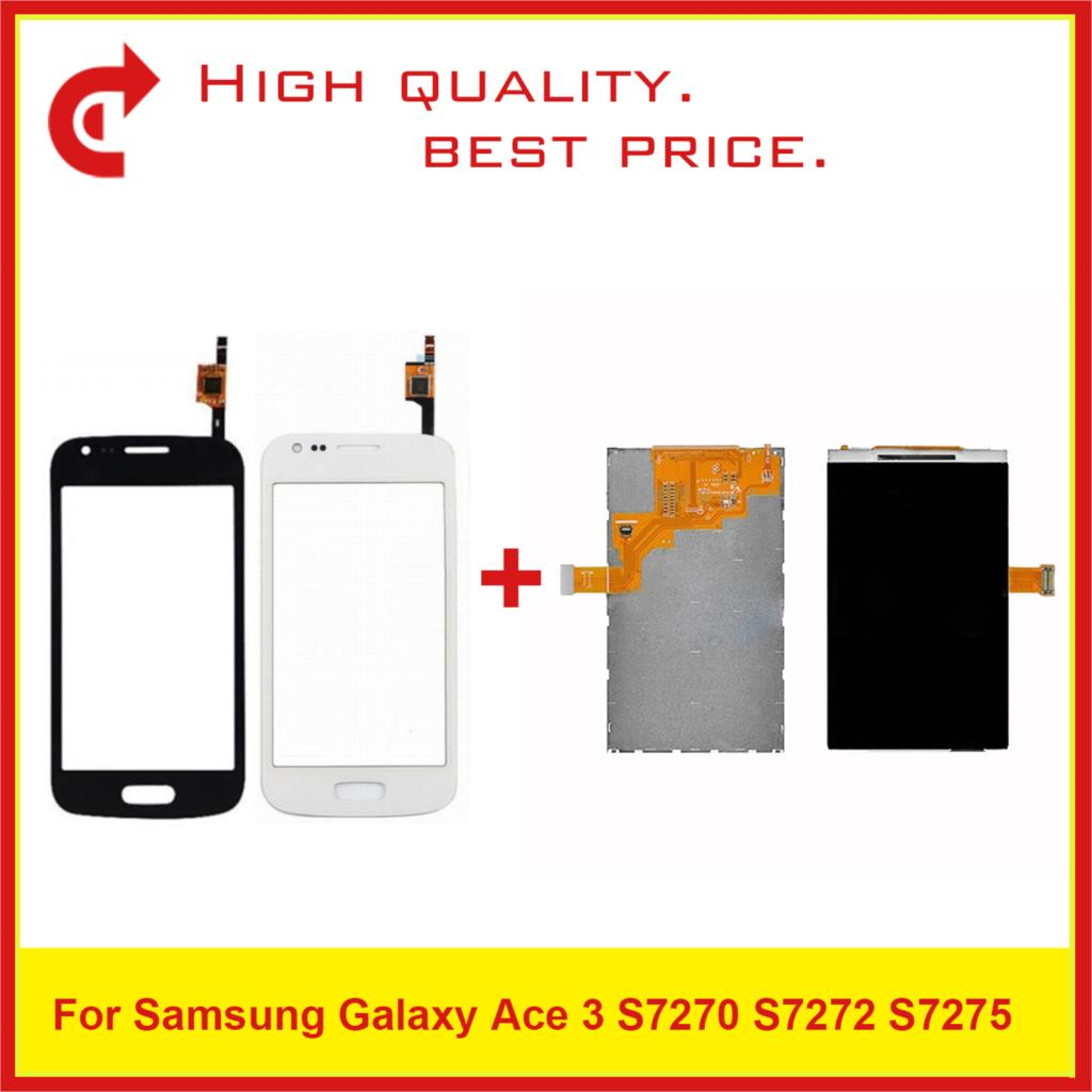 "4.0"" For Samsung Galaxy Ace 3 S7270 S7272 S7275 LCD Display With Touch Screen Digitizer Sensor Panel Pantalla Monitor-in Mobile Phone LCD Screens from Cellphones & Telecommunications"