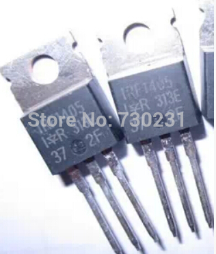 Online Shop Free Shipping One Lot 5PCS, Mosfet IRF1405 IRF 1405 Transistor  TO-220AB | Aliexpress Mobile