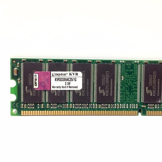 Kingston 1G 1 gb DDR PC 2700 3200 u DDR 1 333 МГц 400 333 400 МГц Настольный ПК памяти Memoria модуль настольных компьютеров и DDR1 Оперативная память 3