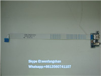 Frete grátis original genuine para lenovo b50-35 b50-70 b50-40 b50-45 b50 series power audio jack usb board ls-b09ap