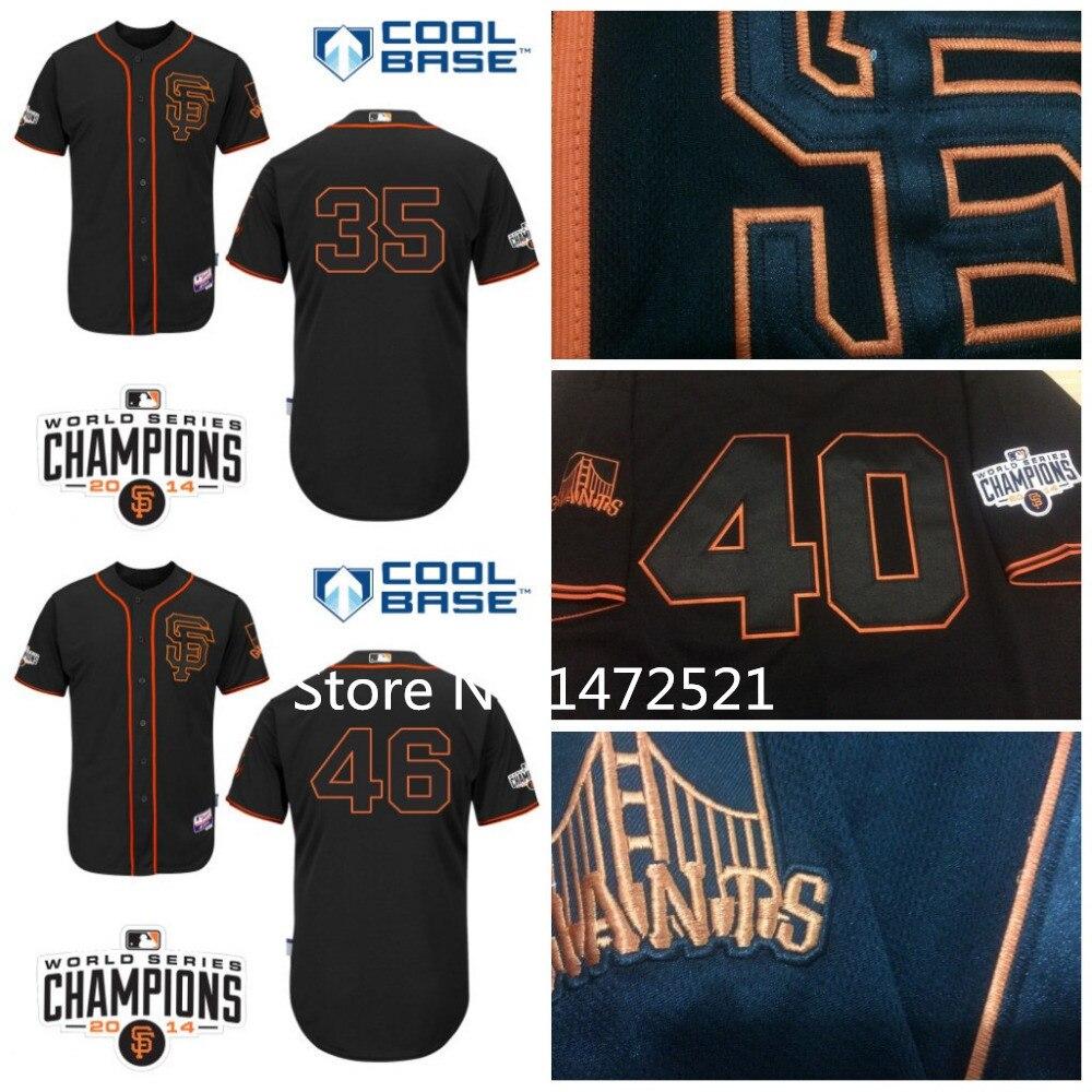 buy popular a50af ef157 san francisco giants new black jersey