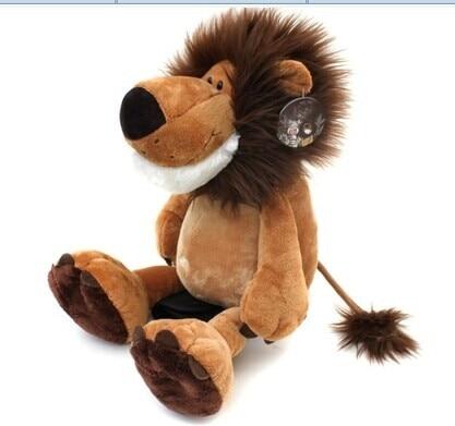 stuffed animal plush 50cm jungle lion plush toy soft doll gift w2772