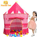 Child Gift Cute Large Pink Princess Tent Quality Child Game House Beautiful Play Tent Pretty Indoor And Outdoor Play Tent