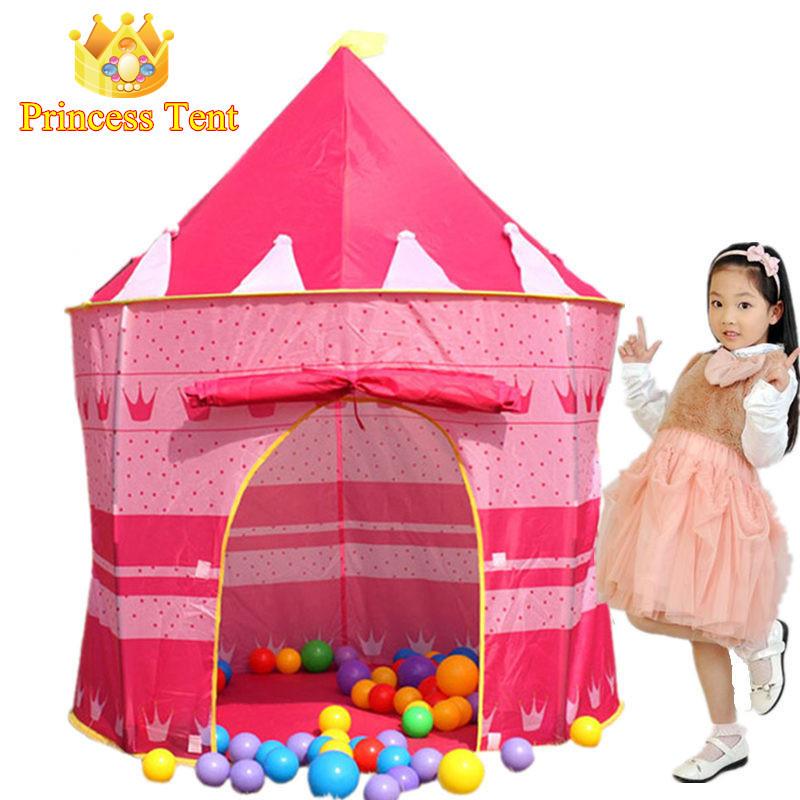 regalo del nio lindo grande rosado de la princesa bastante hermoso juego carpa casa juego carpa