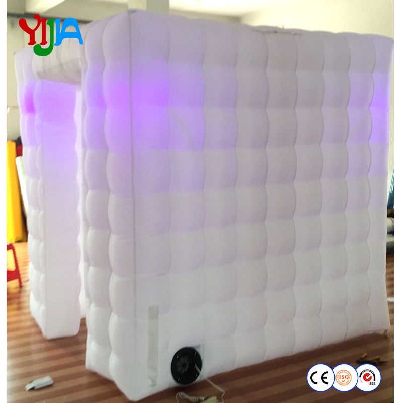 High Quality Free Shipping By DHL LED Photo Booth Inflatable Photo Booth Cabin With Nice Price