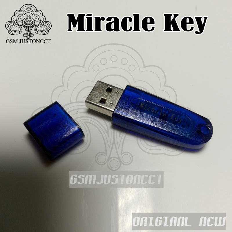 Original New Miracle Key For Miracle Box Update Dongle For China Mobile Phones Unlock+Repairing Unlock