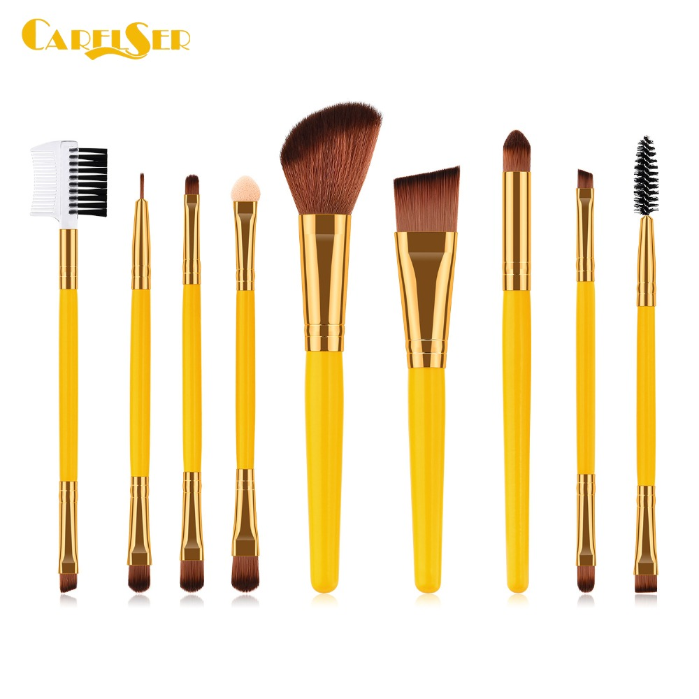 Gujhui Hottest Professional Powder Foundation Makeup Brushes Round Head Cosmetic Bb Cream Multifunctional Makeup-brushes Tools Beauty & Health Makeup