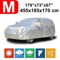 455x185x170 Universal SUV 190 T impermeable cubierta de coche polvo lluvia nieve protección UV para Toyota C-HR prius Honda BR-V HRV CRV Vezel