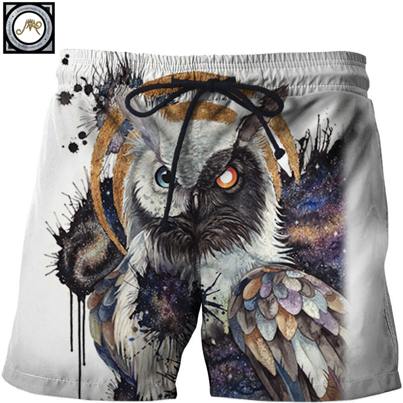 Men's Clothing 2019 New Style Where Light And Dark Meet By Jojosart Wolf Printed Beach Shorts Masculino Men Pant Funny Board Shorts Quick Dry Pant Short Plage