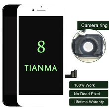 Premium 10PCS/LOT For iphone 8 LCD Display For Tianma Quality Touch Screen 5.5 Inch LCD Digitizer  No Dead Pixel