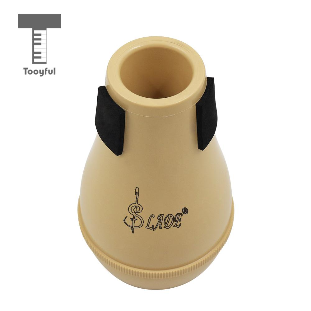Tooyful silenciador mudo portátil para trombone instrumentos