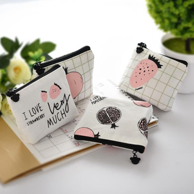 Coin Case Storage Handbags Coin Purse Women Small Wallet Card Holder Zipper Key Ring Money Bags Coin Pocket Wallets Mini Pouch anime fairy tail wallet cosplay school students money bag children card holder case portefeuille homme purse wallets