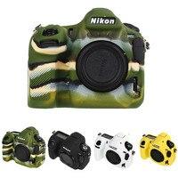 Silicone Armor Skin Case DSLR Camera Body Cover Protector Video Lens Bag For Nikon D850 Camera Bag