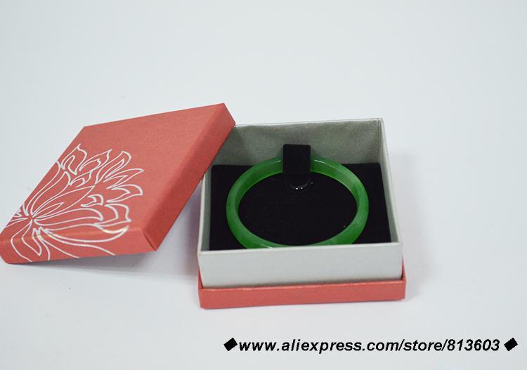 סיטונאי 24 יח'\חבילה HL-14102802 עבור צמיד מציגה אריזת תיבת תצוגת תכשיטי וינטג 'צמיד קופסא מתנה 9*9*3.5 ס