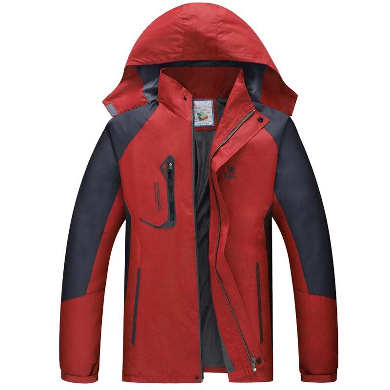 Spring Waterproof Jacket Men 2019 Outdoor Coat Man Hiking Jacket Windproof Jacket For Camping Hiking Trekking Climbing Coat