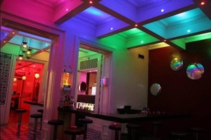 Image 5 - 10pcs LED אור נורות מנורת 3W RGB 16 צבעים ספוט אור AC85 265V + IR שלט רחוק RGB LED תקרת Downlight