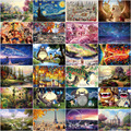 1000 pcss Деревянные Головоломки шерсти головоломки Взрослый Декомпрессии Игрушки головоломки Для детей Развивающие Игрушки Развивающие игры
