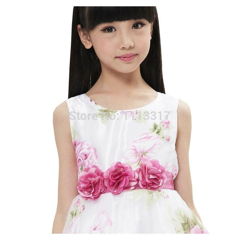 Τα κορίτσια φόρεμα νυφικό φόρεμα με - Παιδικά ενδύματα - Φωτογραφία 5