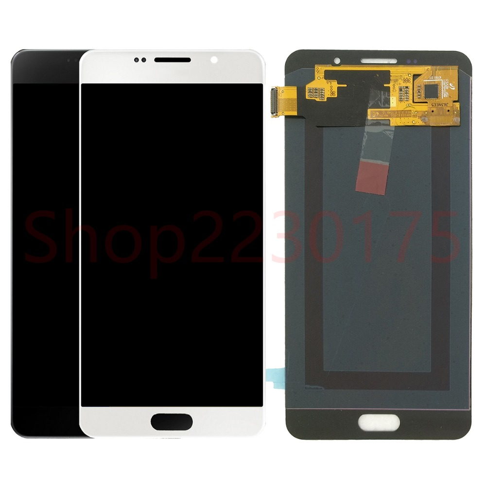 For Samsung Galaxy A7 2016 A710 A7100 A710F A710M Super AMOLED LCD Display Touch Screen Digitizer Assembly Replacement PartsFor Samsung Galaxy A7 2016 A710 A7100 A710F A710M Super AMOLED LCD Display Touch Screen Digitizer Assembly Replacement Parts