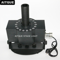 10pcs stage equipment 18x3w 3in1 led co2 jet Led Disco CO2 Fog Machine Party Co2 Jet With DMX 512 Control