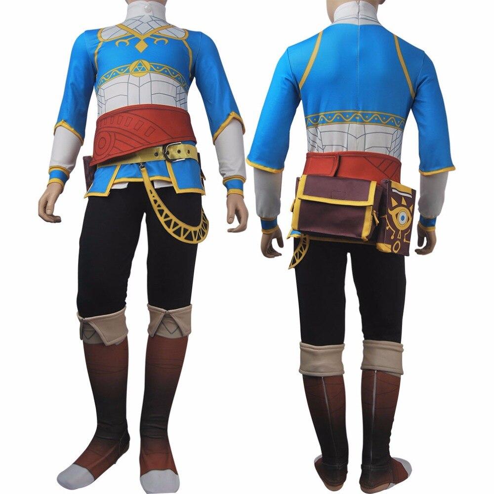 Ragazze dei capretti The Legend of Zelda Respiro della Natura Selvaggia principessa Zelda cosplay outfit halloween costume natale regalo di compleanno giocattoli hot