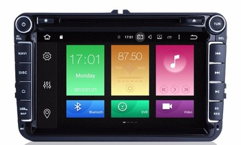 4G LTE Android 9.0 8Inch Car DVD Player For VW/Volkswagen/POLO/PASSAT/Golf/TOURAN/SHARAN Quad Core Wifi USB GPS Navigation Radio