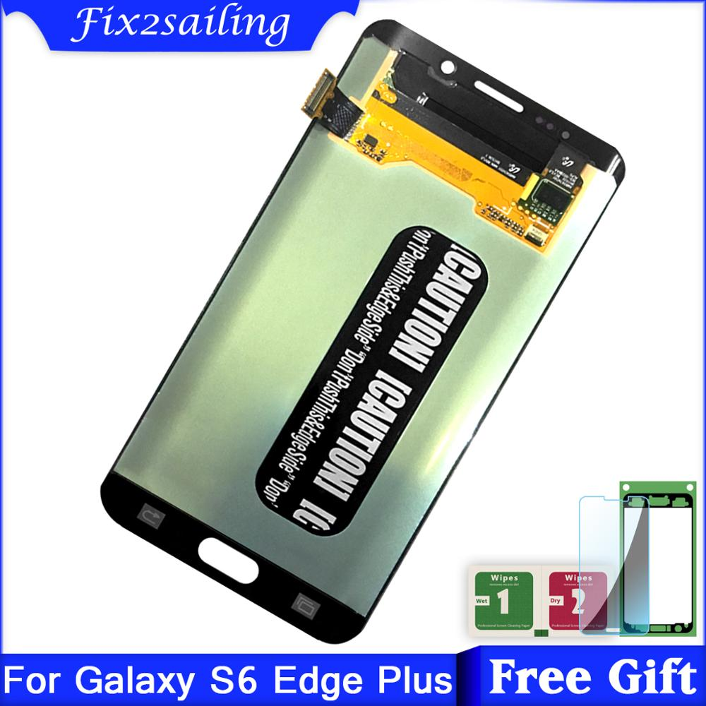 5.7inch Super Amoled LCD For Samsung Galaxy S6 Edge Plus G928 G928F LCD Display + Touch Screen Digitizer Assembly5.7inch Super Amoled LCD For Samsung Galaxy S6 Edge Plus G928 G928F LCD Display + Touch Screen Digitizer Assembly