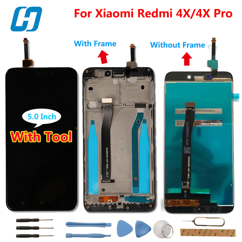 Xiaomi Redmi 4X Lcd Display+Touch Screen 100% New Test Digitizer Panel Replacement For Xiaomi Redmi 4X Pro Global-hacrin