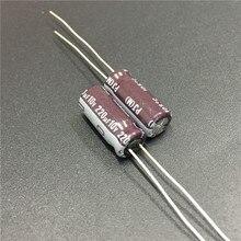 100pcs 220uF 10V NICHICON PJ Series 6.sx15mm 10V220uF Low Impedance Long Life Aluminum Electrolytic capacitor