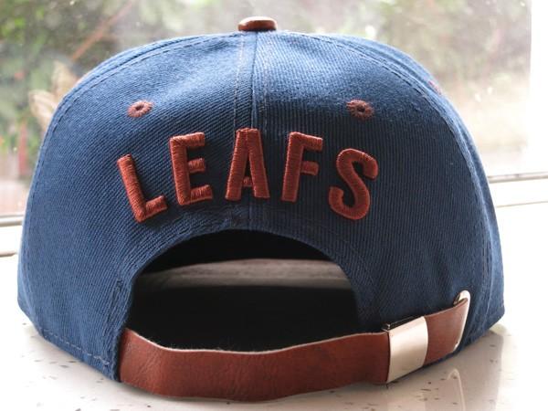 Toronto Maple Leafs Adjustable Snapback Hat_01