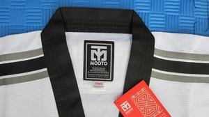 Image 4 - Mooto Master Taekwondo Dobok Trainers Slijtage Volwassen Witte Lange Mouwen Master Uniformen Taekwondo Leraar Uniformen