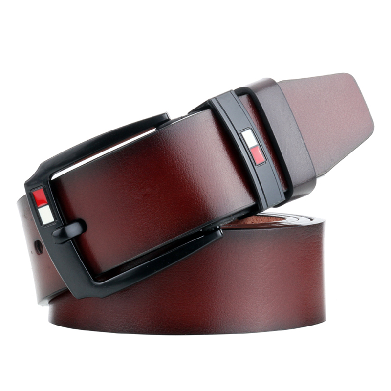 Leather Belts For Men Pin Buckle Belt Waist Business Casual High Quality Strap Luxury  Belt