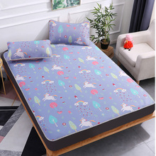 Klonca summer new design bed mat ice silk for students comforter bedding