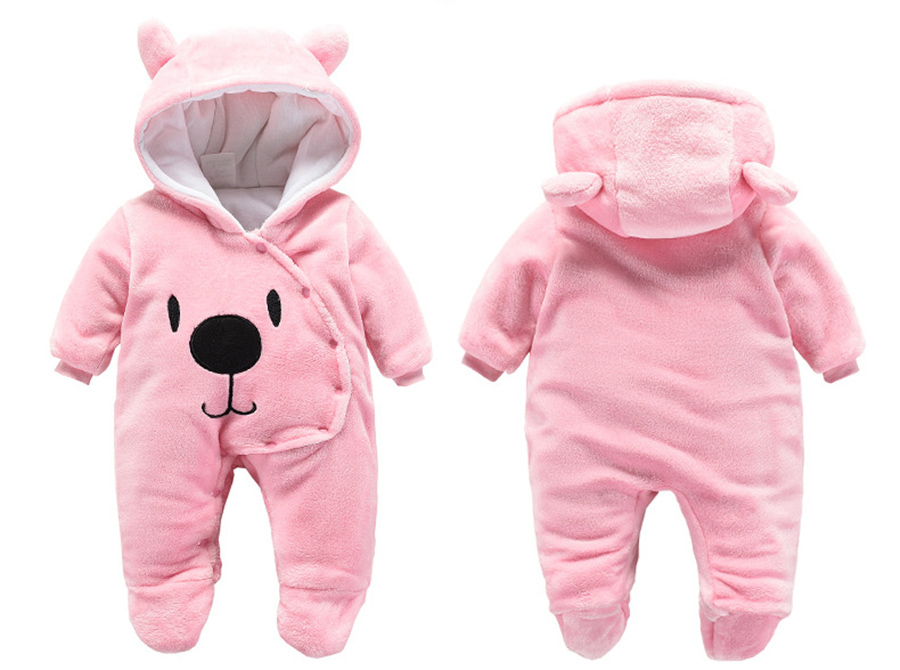 HTB1 yH3alCw3KVjSZR0q6zcUpXaw winter fleece baby rompers long sleeve newborn coat jumpsuit baby clothes boy girl clothing soft infant new born warm rompers