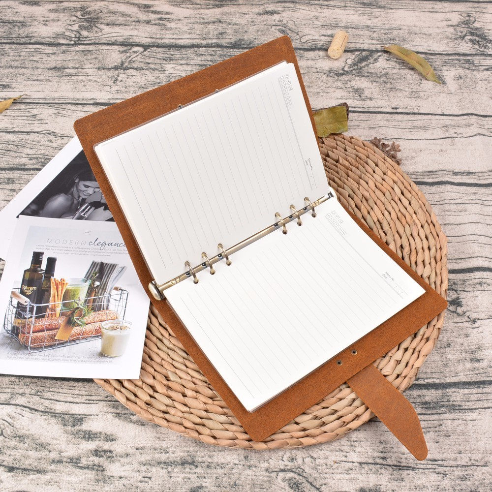 Υψηλής ποιότητας Ρουστίκ Δερμάτινα - Σημειωματάρια - Φωτογραφία 3