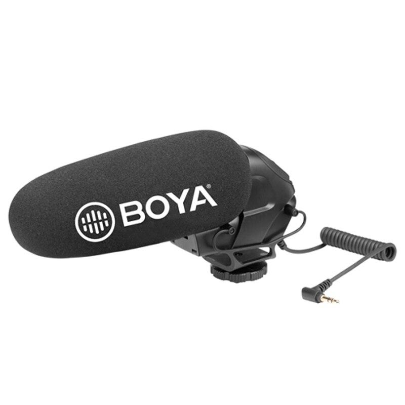 BOYA BY-BM3031 On-Camera Shotgun Microphone for Canon EOS Nikon Pentax Panasonic DSLR Video Camera Camcorder Audio Recorder MicBOYA BY-BM3031 On-Camera Shotgun Microphone for Canon EOS Nikon Pentax Panasonic DSLR Video Camera Camcorder Audio Recorder Mic