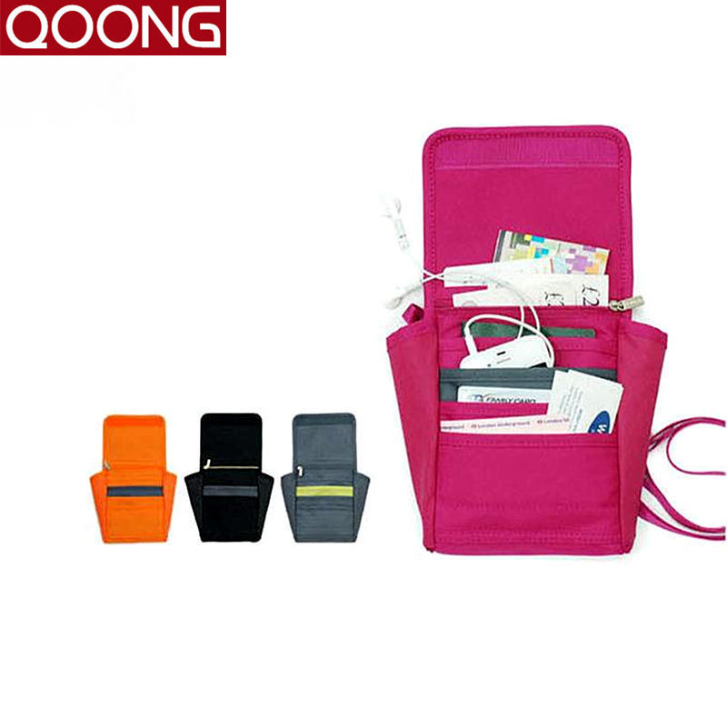 Fashion Luggage Travel Bag Organizer Waterproof Women Messenger Shoulder Crossbody Bags Phone Bag Case Passport Cover Holder