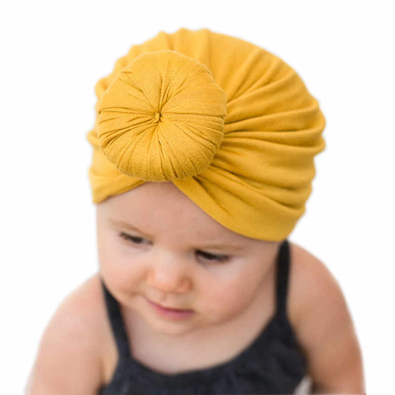 53fbe5239 Detail Feedback Questions about DreamShining Solid Color Baby Hat ...