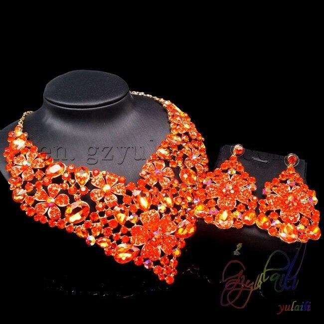 Indian jewelry 4 pcs jewerly set gold jewelry set