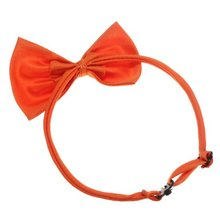 DHDL-Cat Collar pet Dog Bow Tie Puppy Accessory Cute Orange