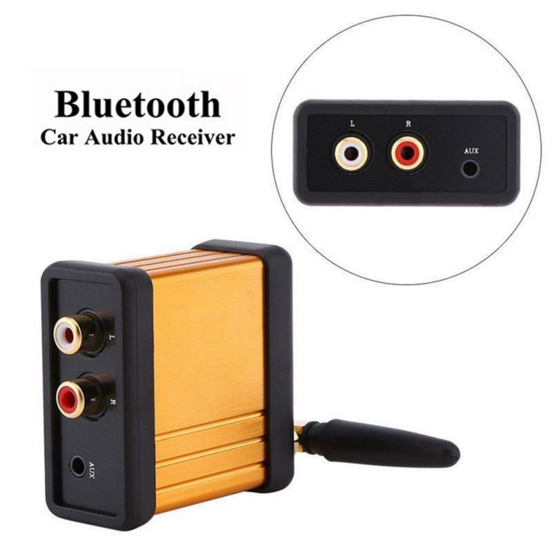 car hifi bluetooth wireless adapter bluetooth v4 2 dc 5v audio receiver box car audio power. Black Bedroom Furniture Sets. Home Design Ideas