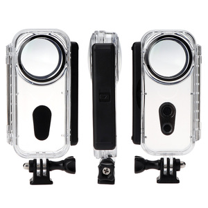 Image 5 - في المخزون 5M Insta360 واحد X مشروع حافظة مثبت مضاد للماء قذيفة الغوص الحال بالنسبة Insta360 واحد X عمل الكاميرا الملحقات