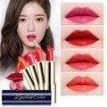 Maquillaje de la marca de Labios Belleza Lápiz Labial Mate lápiz Labial Rojo Coreano Cosméticos De Maquillaje A Prueba de agua de Larga Duración Lápiz Labial Mate brillo de Labios