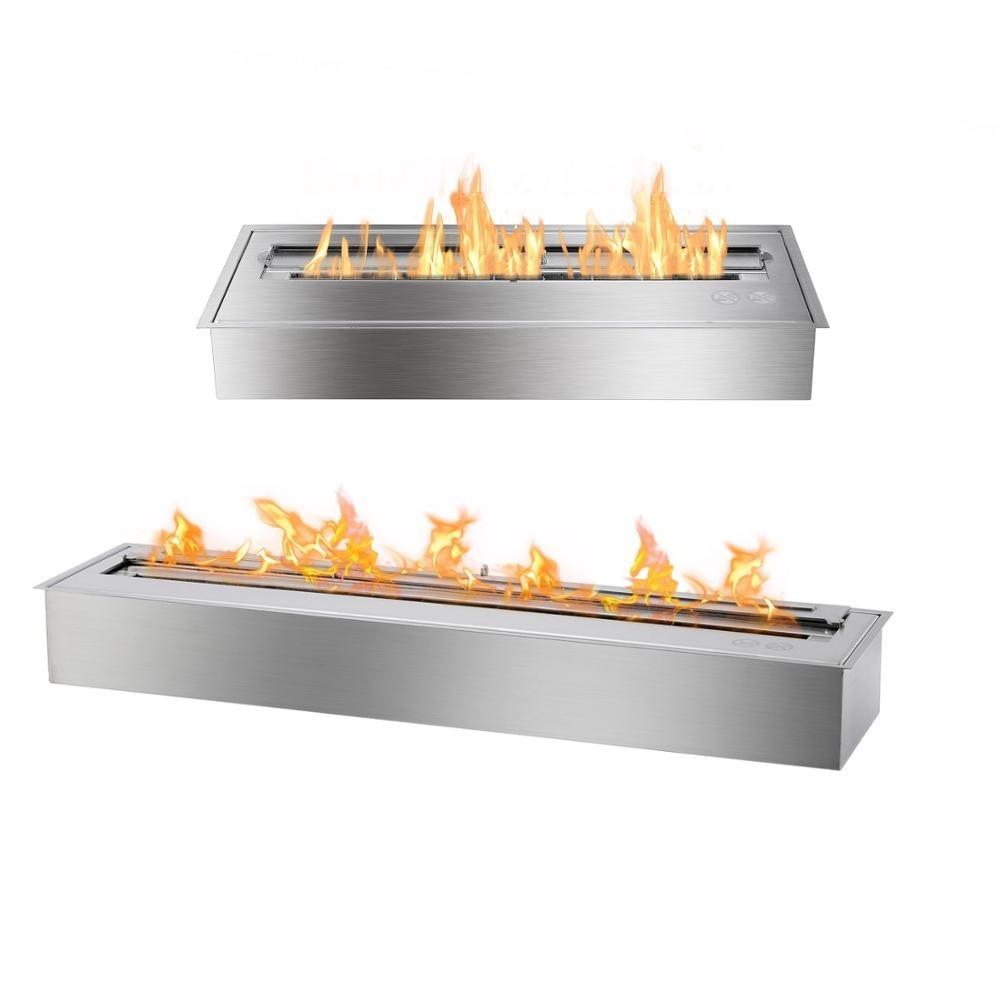 Inno Living Fire 48inch 120CM  Bioethanol Fireplace Linear