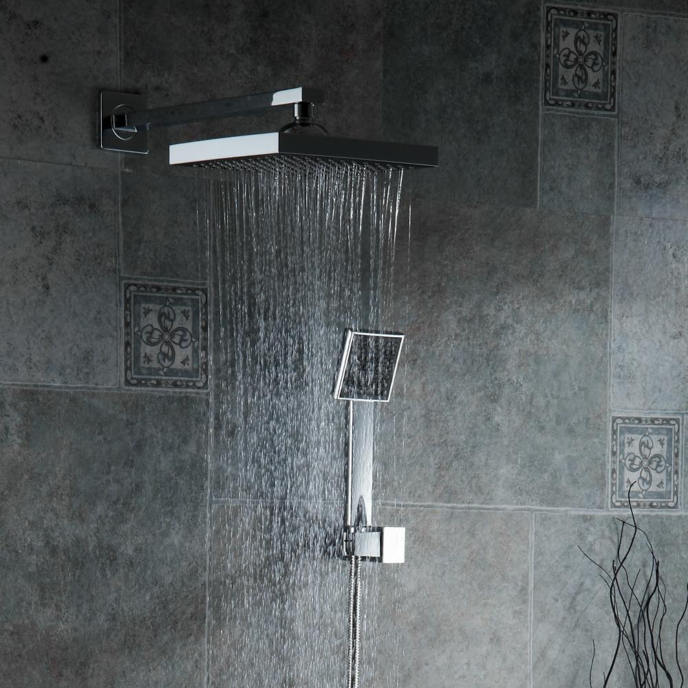 Bathroom Shower Set 3 Functions Thermostatic LED Digital Display ...
