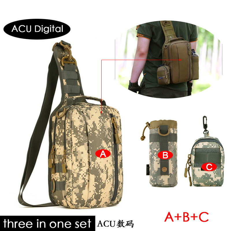 Digital digital Camouflage Degli Trekking wolf Digital Le Adolescenti Esterna Tattico Campeggio Di Brown Dello Turistico Uomini black Donne jungle Acu Sets Zaino Sets Nylon Sets A acu desert Sets desert Sets black C Tracolla cp Sport Sacchetto Borsa Per Jungle B Brown Militare w w1SSpqF0